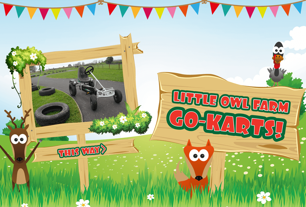 Little Owl Go-Karts!